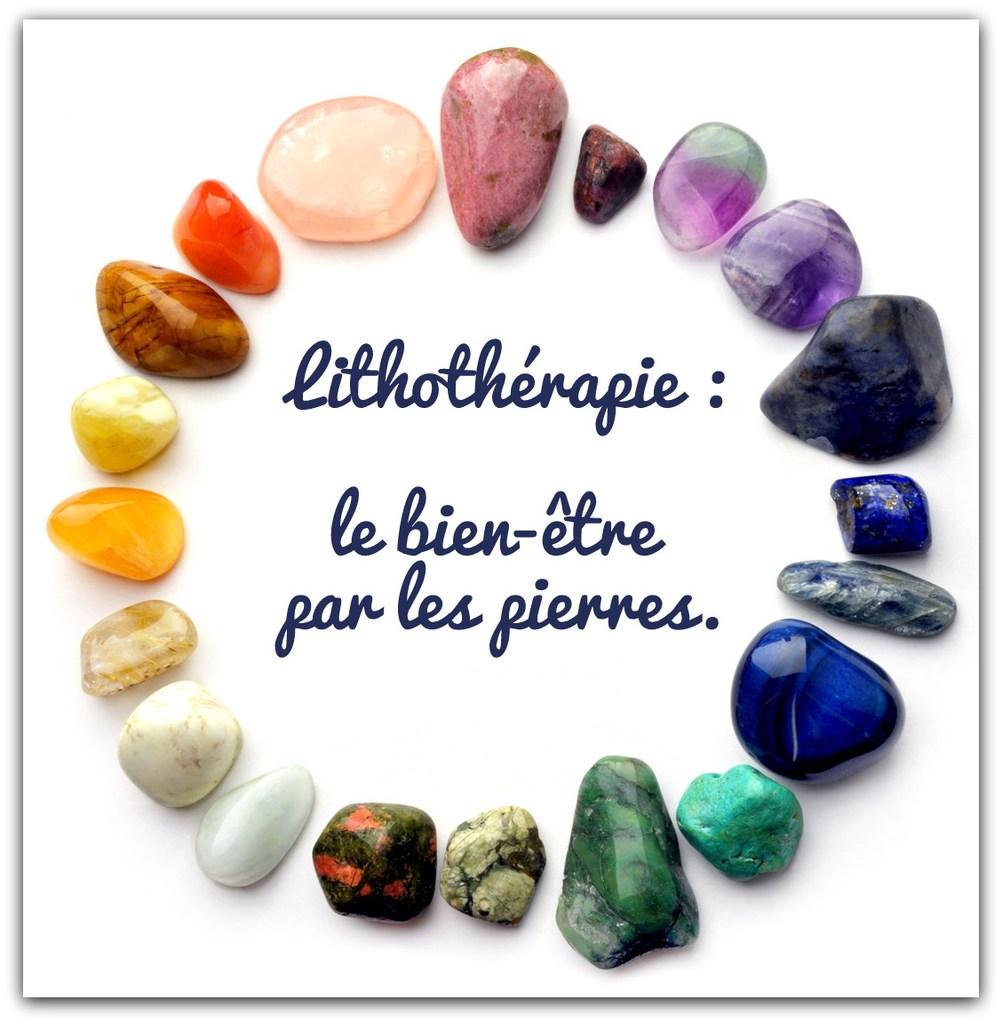 la lithothérapie chez écrin de pierre