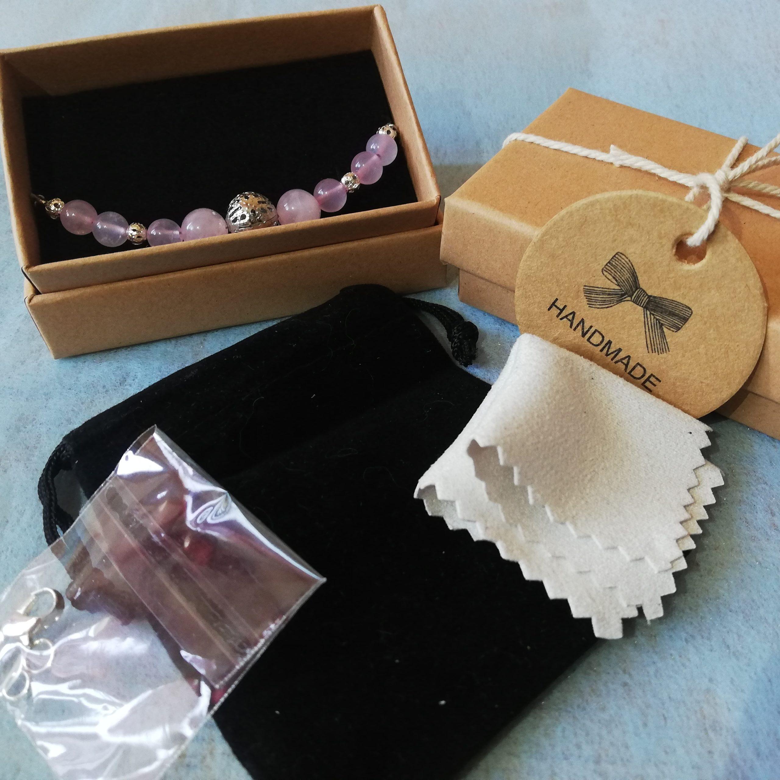 emballage bijou fait-main écrin de pierre